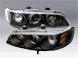 93 735iL Lighting - Head Lights Assembly